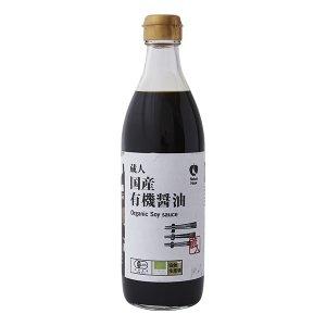 NH蔵人 国産有機醤油 500mL