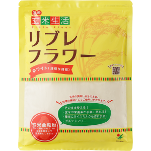 玄米生活リブレフラワー ホワイト