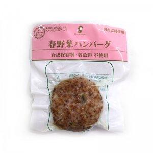 【冷蔵】春野菜ハンバーグ120g