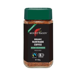 オーガニック カフェインレス インスタントコーヒー