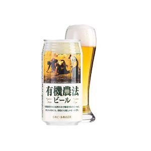 有機農法ビール (缶)350ml