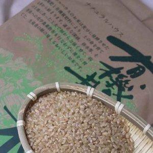 群馬県・金井さんの有機栽培こしひかり玄米5kg