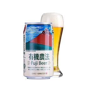 有機農法 富士ビール(缶) 350ml