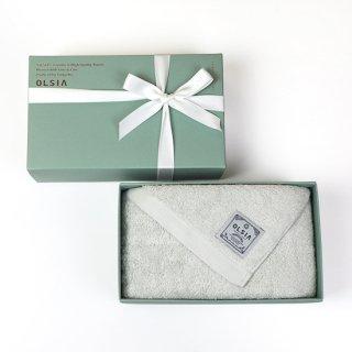 OLSIA Premium  ギフトセット(フェイスタオル1枚)緑箱
