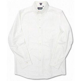 CLEVE SHIRT MAKERS / L/S OXFORD B.D SHIRT - WHITE