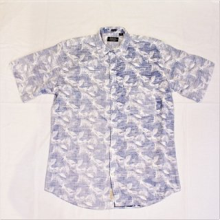 CLEVE SHIRT MAKERS / s/s point collar shirt - white