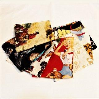 ROCKMOUNT RANCH WEAR / made in u.s.a WESTERN BANDANA 7colors