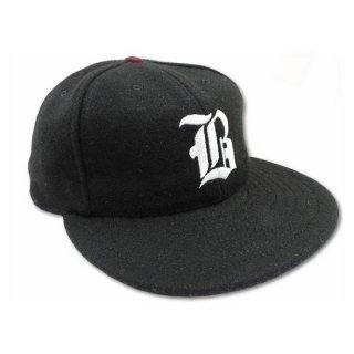 RED DOGS /  MELTON BASEBALL CAP (BLACK)