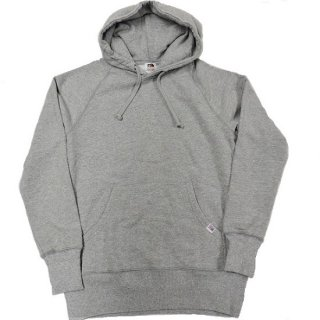 FRUIT OF THE LOOM  / MADE IN U.S.A HOODED SWEAT (GRAY)
