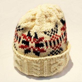 HIGHLAND 2000 /  SNOWFLAKE WATCH CAP  (ARAN)