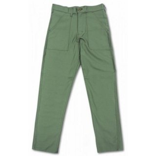 STAN RAY / slim fit 4pocket fatigue pant cotton sateen - OLIVE