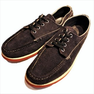 RUSSELL MOCCASIN / FISHING OXFORD NAVY ELK ROUGH CUT