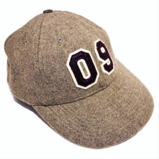RED DOGS /  MELTON BASEBALL CAP NUMBERS (GRAY)
