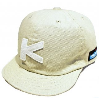 KAVU / BASEBALL CAP DUCK CLOTH- SAND