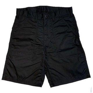 DOUBLE H /   PARRAFFIN FATIGUE SHORTS - BLACK