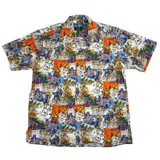 ギットマン ヴィンテージ GITMAN VINTAGE / 半袖 ロンドンオリンピック オープンカラーシャツ S/S OPENCOLLAR SHIRT