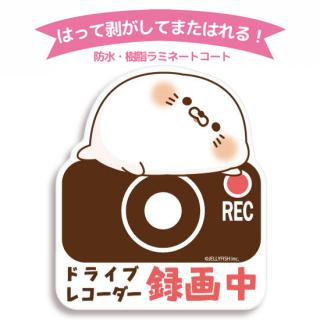 【3月上旬入荷予定】UVラミ・防水・デコステッカー『毒舌あざらし/録画中』