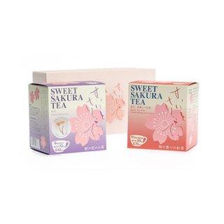 スイートサクラティー 2個セット(桜花、紅茶)