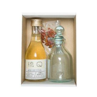 コーレーグースと琉Qの琉球ガラス瓶