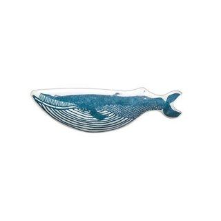 KATA KATA 印判手長皿(クジラ)