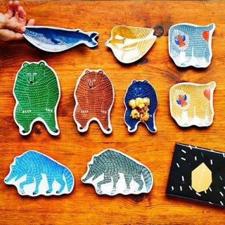 KATA KATA 印判手豆皿(クジラ)