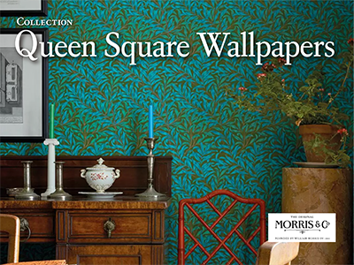 Morris&Co. / Queen Square Wallpapers