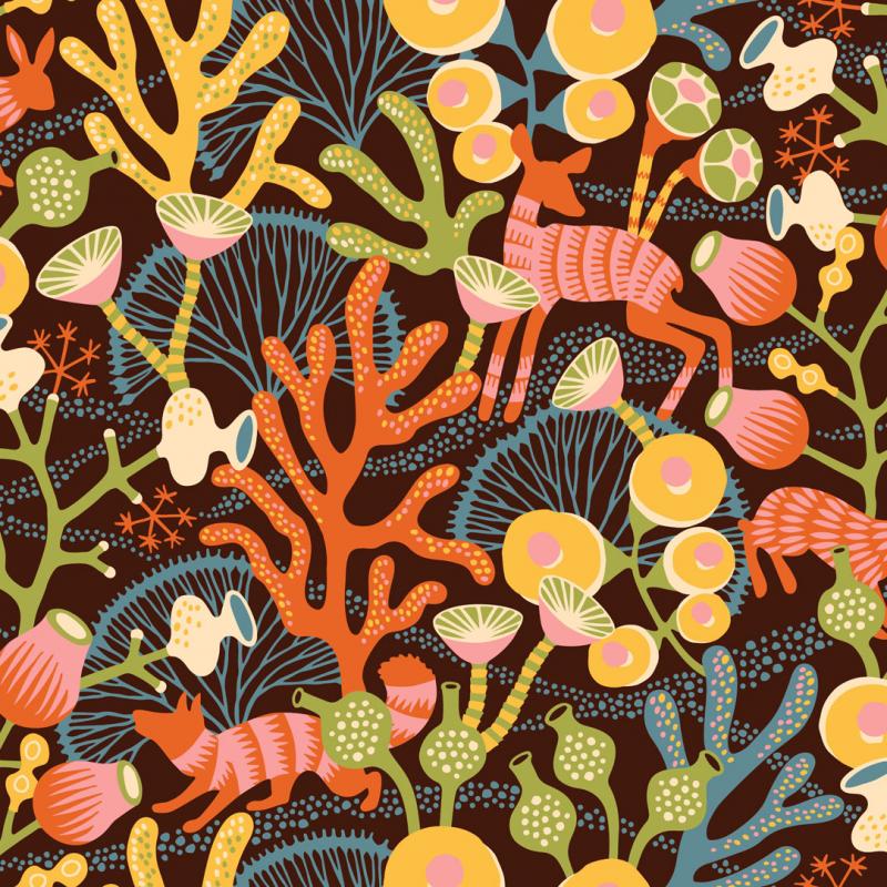 Korallang / 1461 / Wonderland / Borastapeter