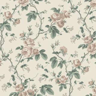 French Roses / 7211 / In Bloom / Borastapeter
