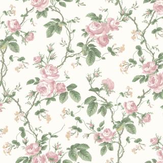 French Roses / 7212 /  In Bloom / Borastapeter