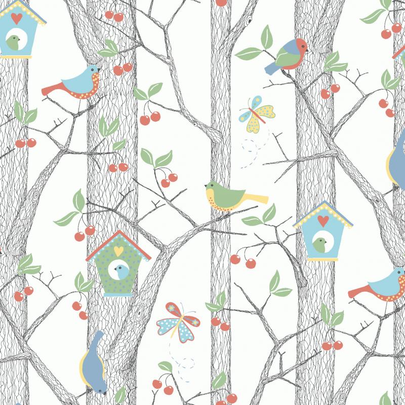 Cherry Friends / 6261 / Scandinavian Designers Mini / Borastapeter