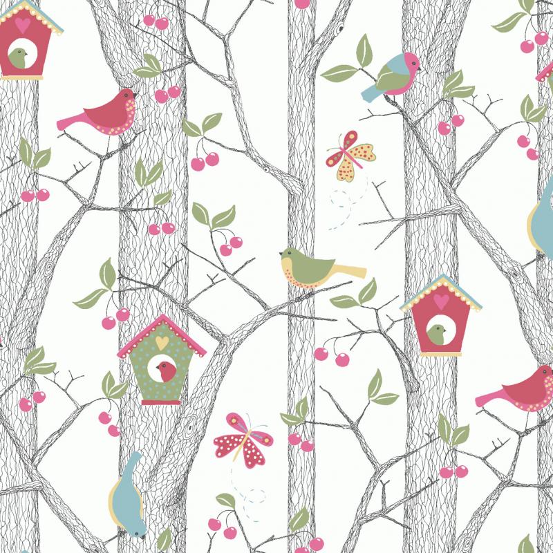 Cherry Friends / 6262 / Scandinavian Designers Mini / Borastapeter