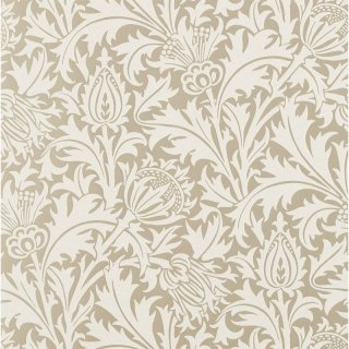 Pure Thistle (Beaded) / 216548 / Pure Morris North Wallpapers / Morris&Co.