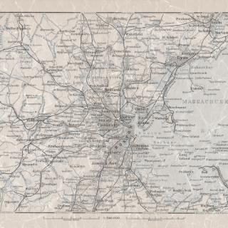Boston Harbor / 1884 / Lexington / Borastapeter