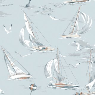 Sailboats / 8854 / Marstrand � / Borastapeter