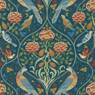 Seasons by May / 216686 / Morris Archive V - Melsetter wallpapers / Morris&Co.