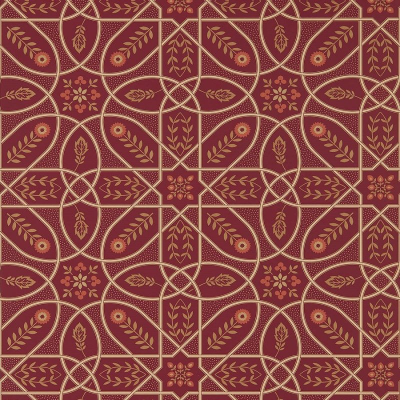Brophy Trellis / 216701 / Morris Archive V - Melsetter wallpapers / Morris&Co.