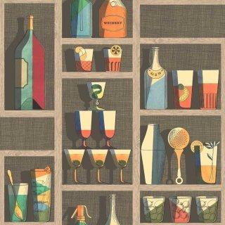 Cocktails / 114/23043 / Fornasetti Senza Tempo / Cole&Son