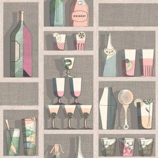 Cocktails / 114/23044 / Fornasetti Senza Tempo / Cole&Son