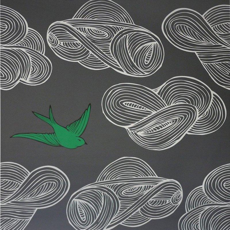 Daydream (Gray) / JRO-023 / Julia Rothman / Hygge & West