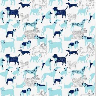 Dog Park (Blue) / JRO-054 / Julia Rothman / Hygge & West