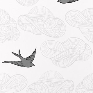 Daydream (Light Gray) / JRO-064 / Julia Rothman / Hygge & West