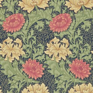 Chrysanthemum / 212549 / Morris Archive � / Morris&Co.