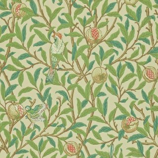 Bird & Pomegranate / 212539 / Morris Archive � / Morris&Co.
