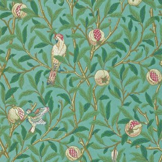 Bird & Pomegranate / 212538 / Morris Archive � / Morris&Co.