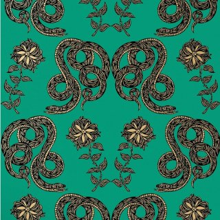 Serpentine (Emerald) / PN-014 / Patch Nyc / Hygge & West