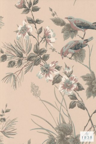 Rosemore /1601-100-02/   The Blooming House 7 / 1838Wall coverings
