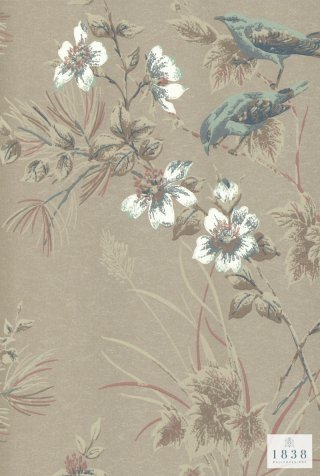 Rosemore /1601-100-04/   The Blooming House 7 / 1838Wall coverings