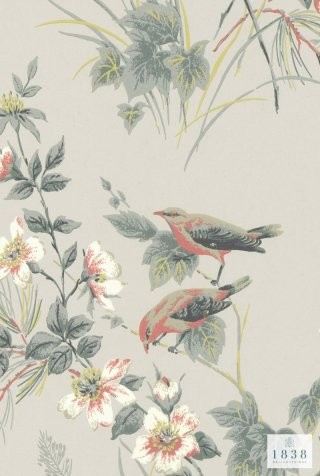 Rosemore /1601-100-05/   The Blooming House 7 / 1838Wall coverings