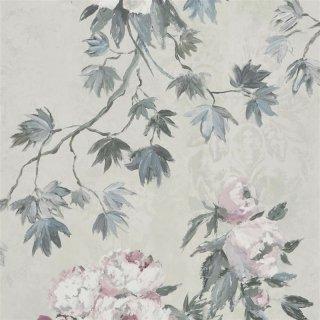 Floreale-Zinc / PDG673/03 / Caprifoglio Wallpaper / Designers Guild