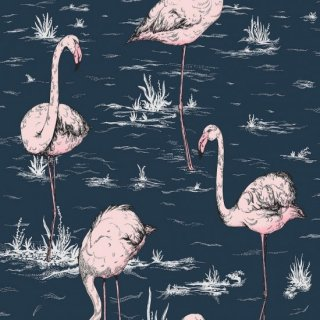 Flamingos / 112/11041 / Icons / Cole&Son